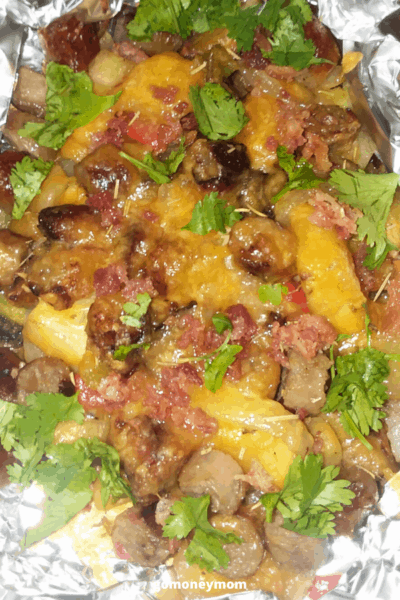 Foil Potato Packet/Potluck Side Dishes