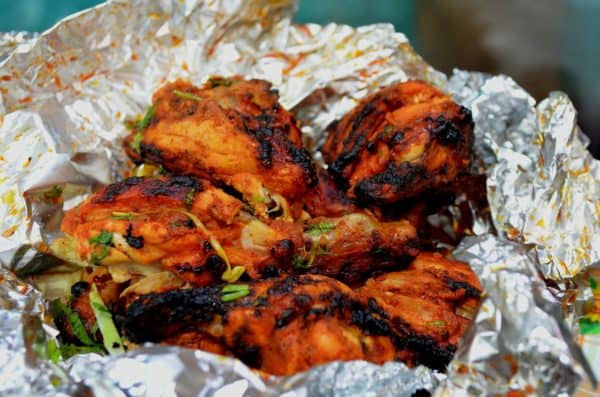chicken, roasted, indian