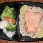 salmon, meal prep