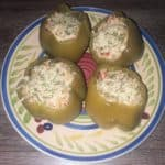 stuffed peppers with salmon