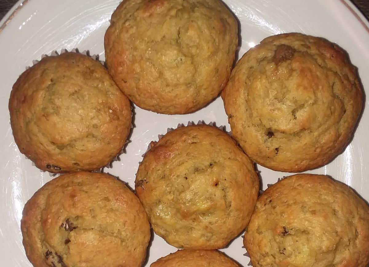 Easy Homemade Banana Muffins