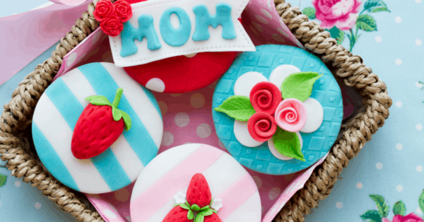 cupcakes for mothers' day