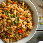 egg fried rice with green onions